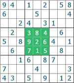 Sudoku - quadrado