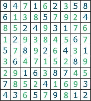 Sudoku - solução