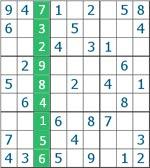 Sudoku - Coluna